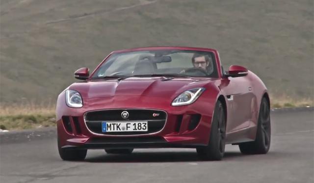Evo Drives Jaguar F-Type V8 S Through Romania