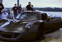 Watch the Hennessey Venom GTs Record Setting Top Speed Run