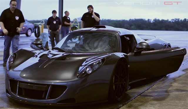 Untitled 115 - Hennessey Venom GTs Record Setting Top Speed Run