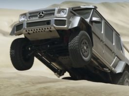 Mercedes-Benz G63 AMG 6x6 Shows Off Its Offroading Skills