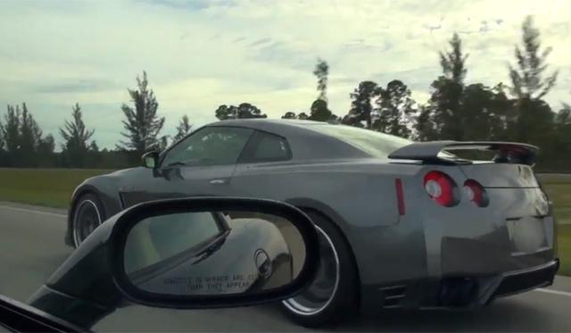 Nitrous-Equipped Corvette Z06 Races Nissan GT-R