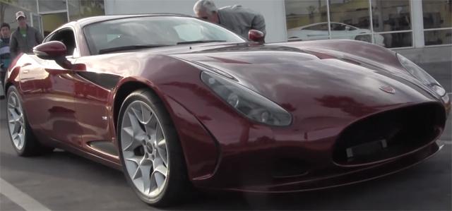 Rare Zagato Perana Z-One Spotted in the U.S.