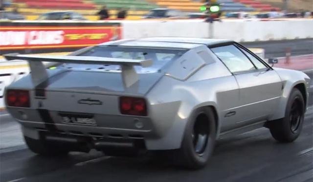 Australian LS1 V8 Powered Lamborghini Jalpa Runs 10-Second 1/4 Mile