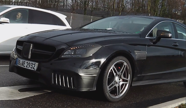 Facelifted Mercedes-Benz CLS 63 AMG Spied