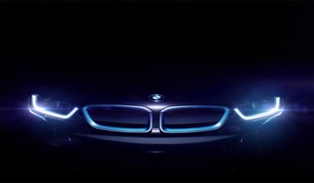 BMW i8's 'Hello Future' Winter Olympics Commercial