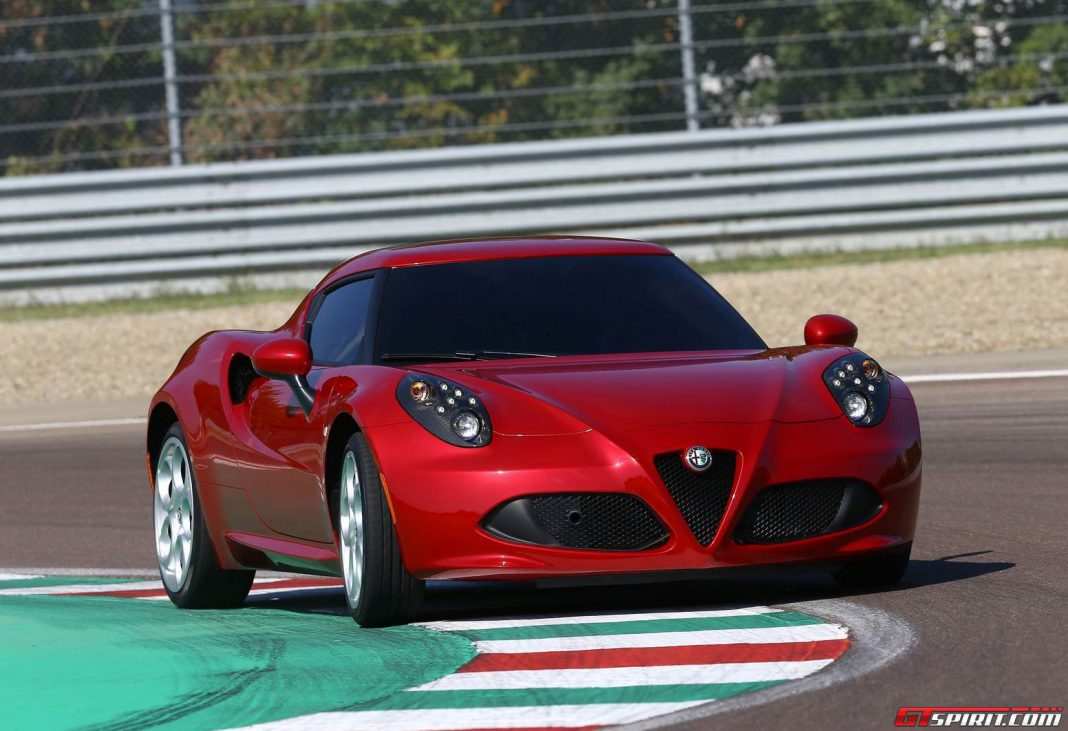 Alfa Romeo 4C Coming to U.S. in June
