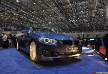 Alpina B4 BiTurbo Convertible at the Geneva Motor Show 2014