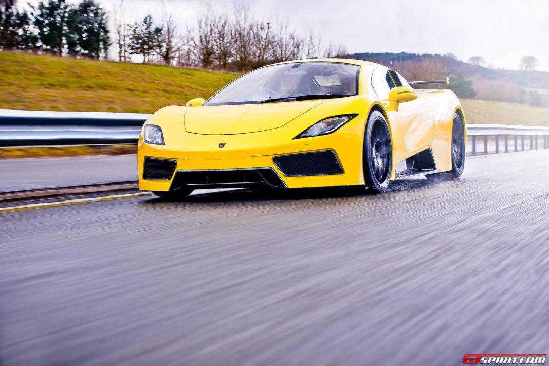 Arash Motors AF8 Supercar
