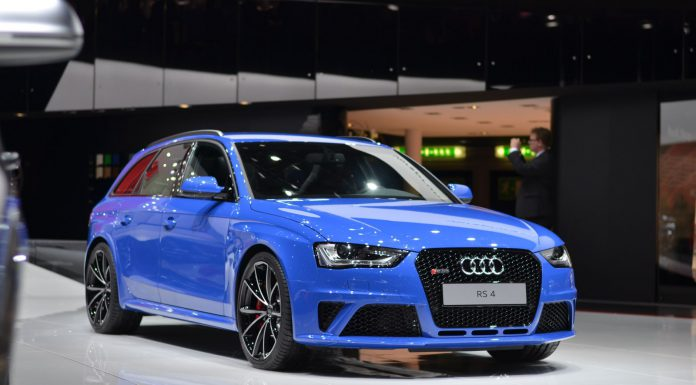 Audi RS4 Nogaro Edition at Geneva Motor Show 2014