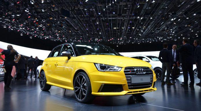 Audi S1 at Geneva Motor Show 2014