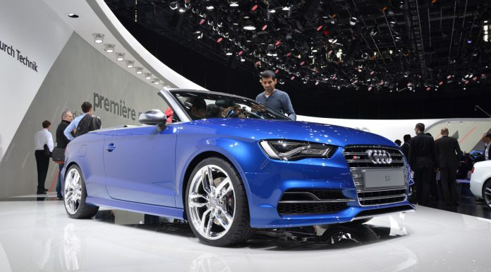 Audi S3 Convertible at Geneva Motor Show 2014