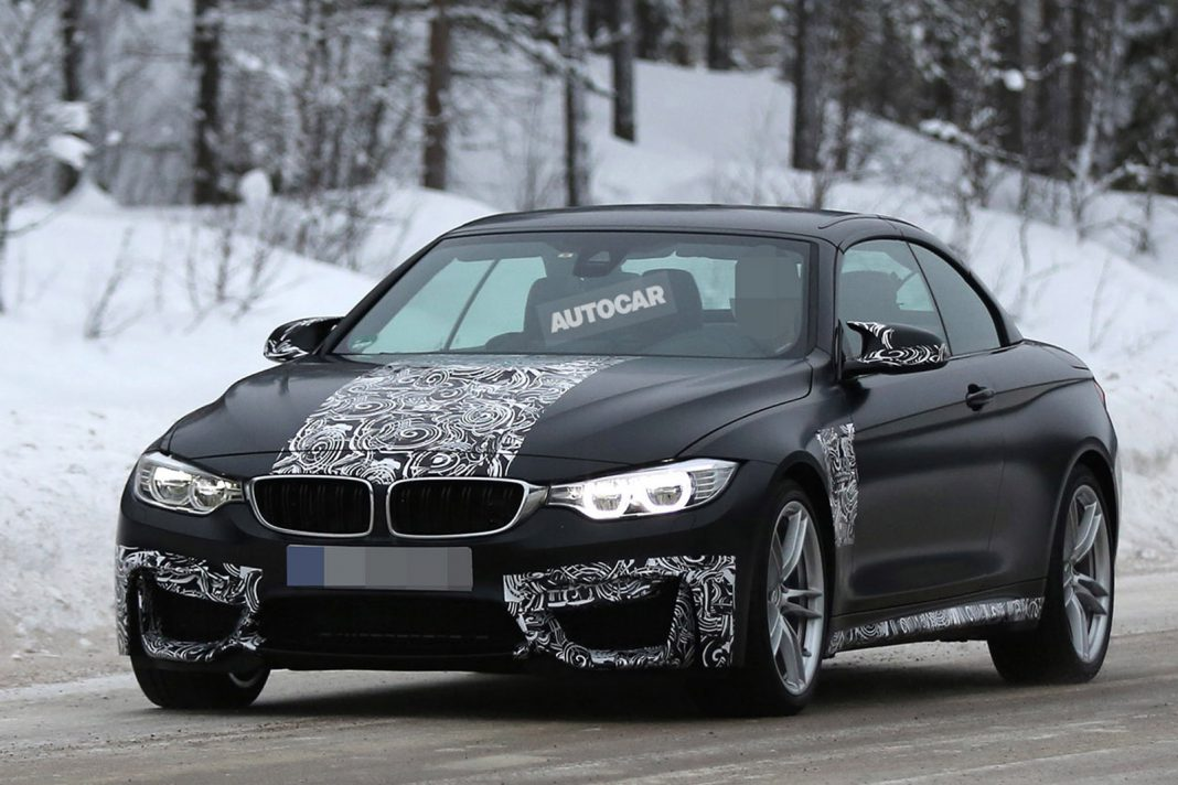 BMW M4 Convertible Sheds Camo in Latest Spypics