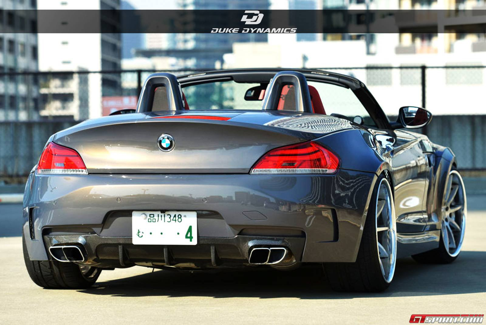 Official Bmw Z4 Widebody By Duke Dynamics Gtspirit