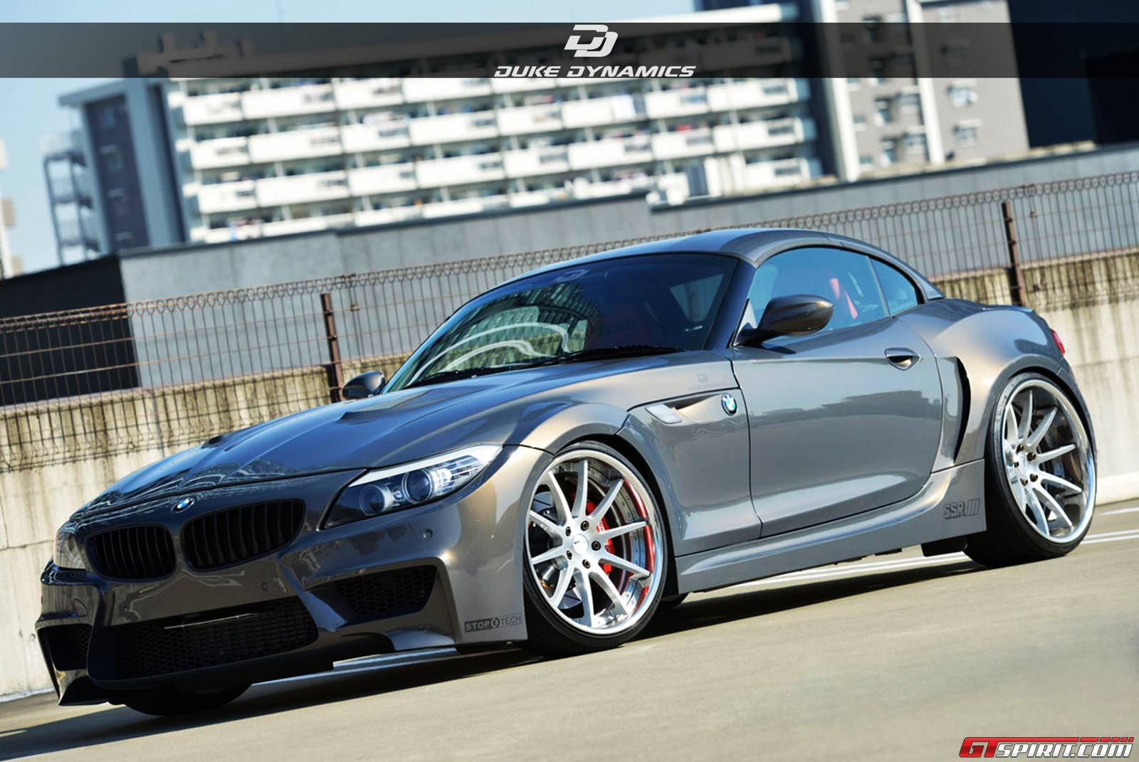 official bmw z4 widebody by duke dynamics gtspirit. Black Bedroom Furniture Sets. Home Design Ideas