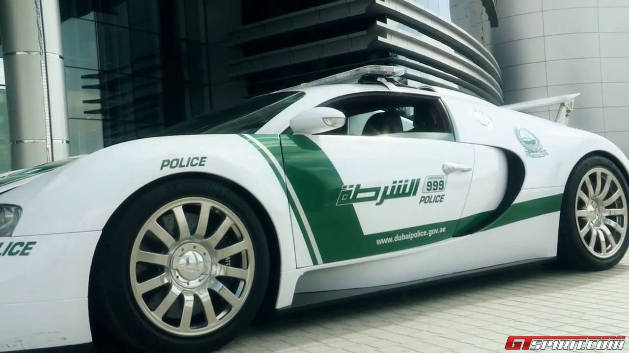 dubai police adds bugatti veyron to supercar collection gtspirit. Black Bedroom Furniture Sets. Home Design Ideas