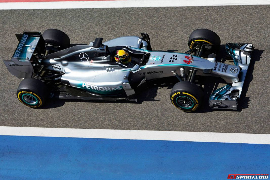 F1 Pre-Season Testing Bahrain: Mercedes Fastest on Day 3