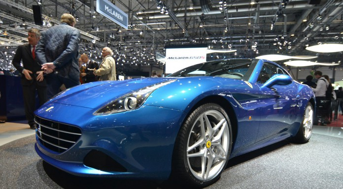 Ferrari California T at Geneva Motor Show 2014