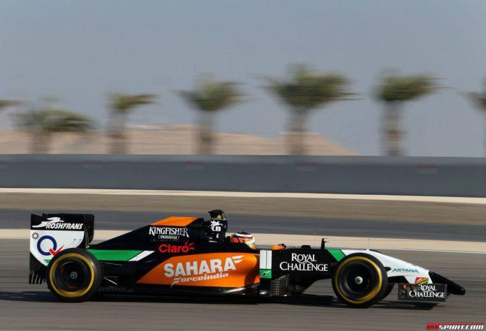 F1 Pre-Season Testing Bahrain Day 1