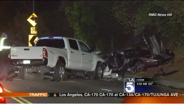 Fatal Ford GT Accident in Southern California