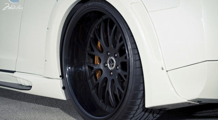 Beastly Nissan GT-R by Wald International and Modulare Wheels
