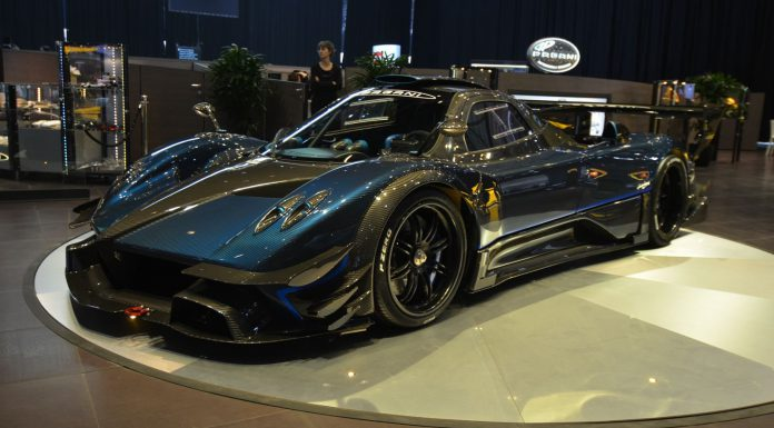 Pagani Zonda Revolucion at the Geneva Motor Show 2014