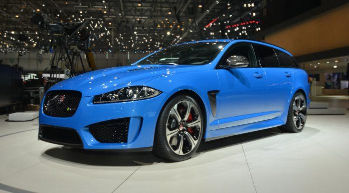 Jaguar XFR-S Sportbrake at Geneva Motor Show 2014