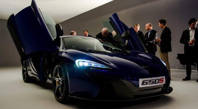 European McLaren 650S Price and Options List Leak