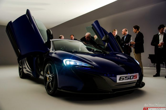 European McLaren 650S Price and Options List Leak