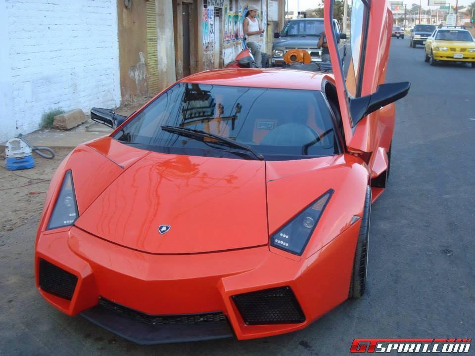 Overkill Home Made Lamborghini Reventon Spotted In Mexico