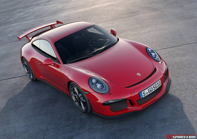2015 Porsche 911 GT3 RS Could Receive Stick Shift