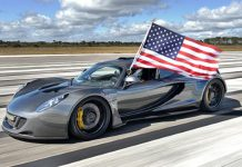 Hennessey Venom GT Hits Record 270.49 mph at NASA
