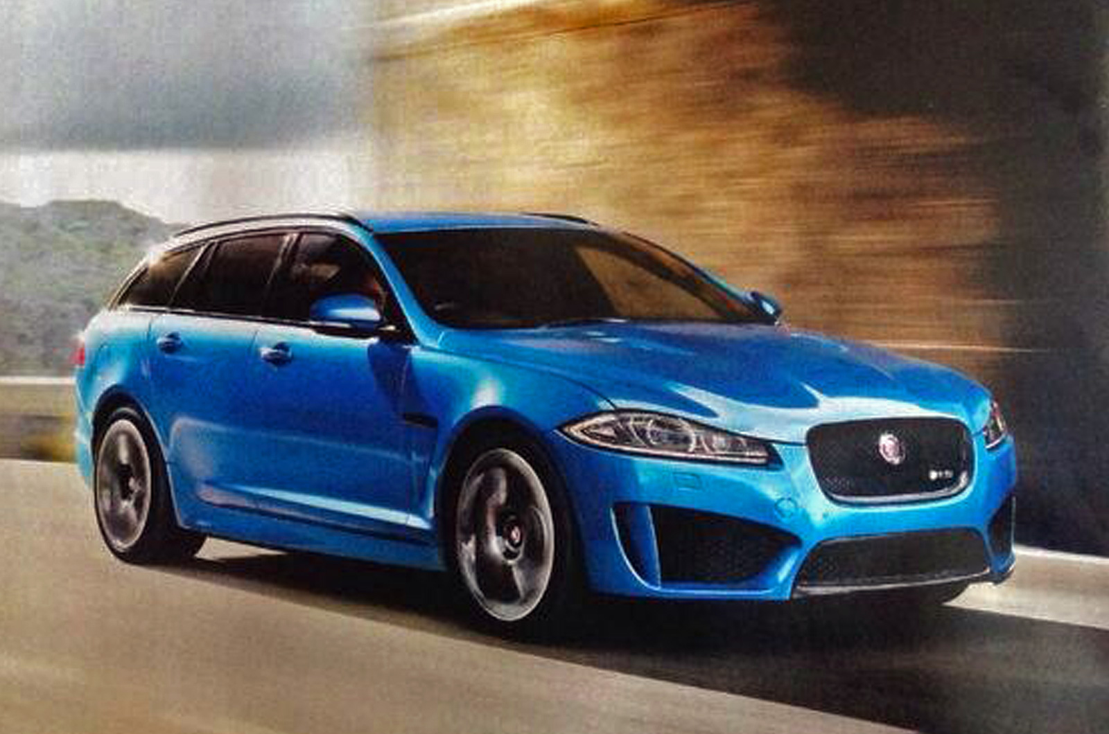 Jaguar XFR-S Sportbrake Leaks Ahead of Geneva Motor Show ...