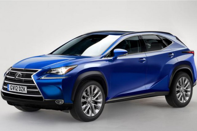 2015 Lexus NX SUV Hitting U.K. in October With Various Variants