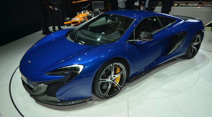 McLaren 650S at Geneva Motor Show 2014