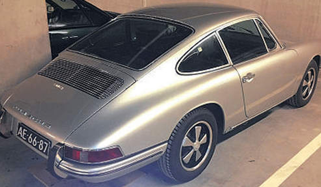 Prized Porsche 912 Coupe Stolen in Rotterdam