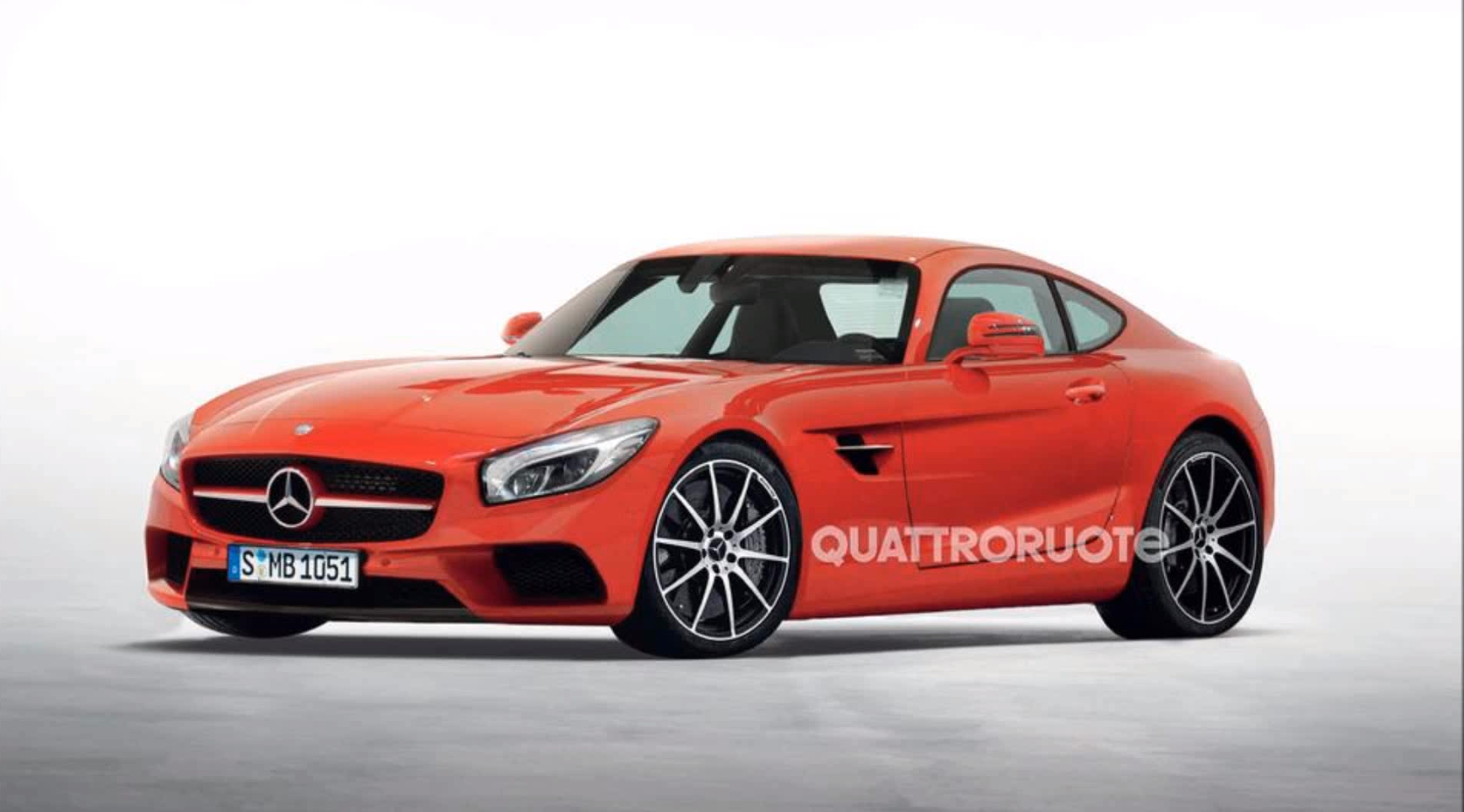 2015 mercedes benz amg gt rendered gtspirit. Black Bedroom Furniture Sets. Home Design Ideas