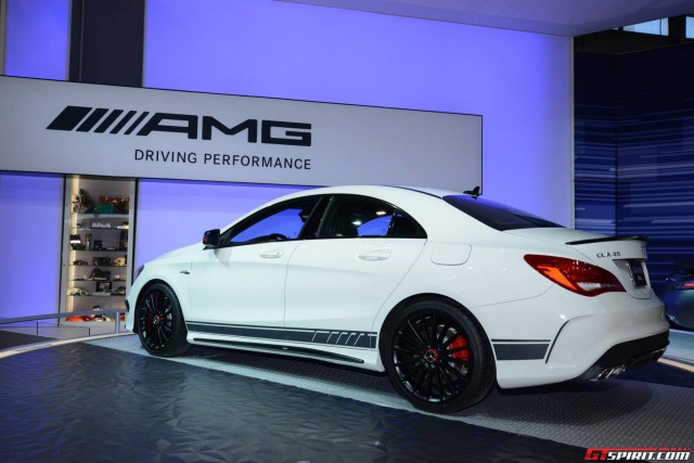For full details on the Mercedes-Benz CLA 45 AMG , take a look at our