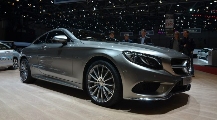 Mercedes-Benz S Class Coupe at Geneva Motor Show 2014