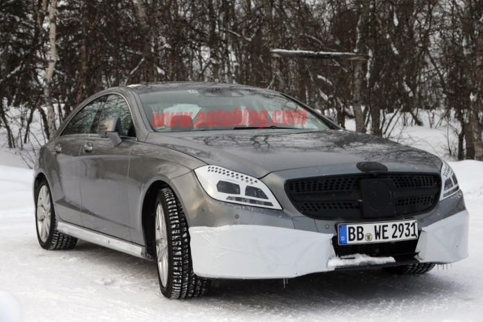 New Images of Facelifted Mercedes-Benz CLS