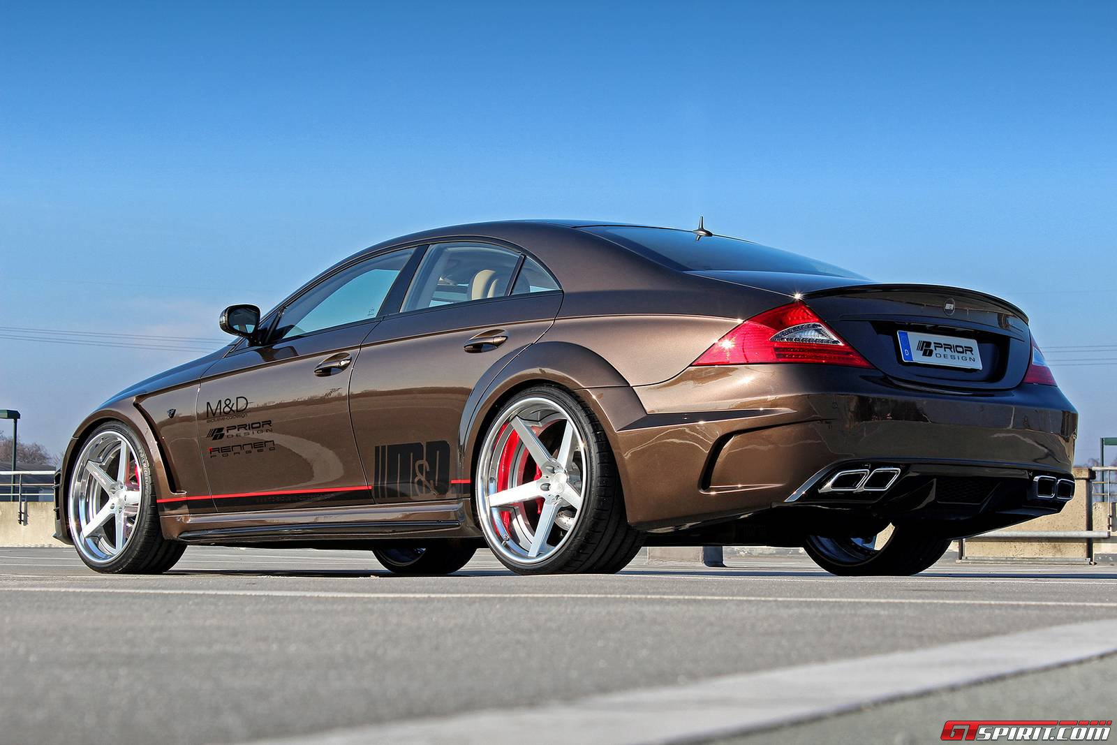 Official prior design mercedes benz cls widebody black for Mercedes benz job openings