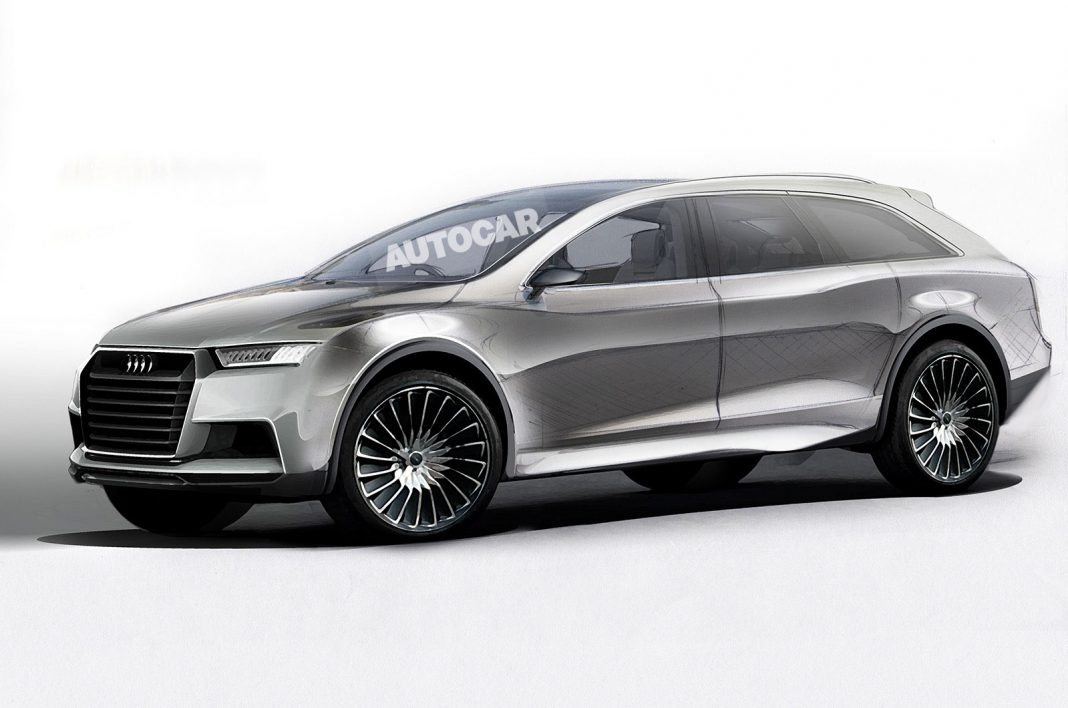 All-Electric Audi Q8 SUV Confirmed to Rival Tesla Model X