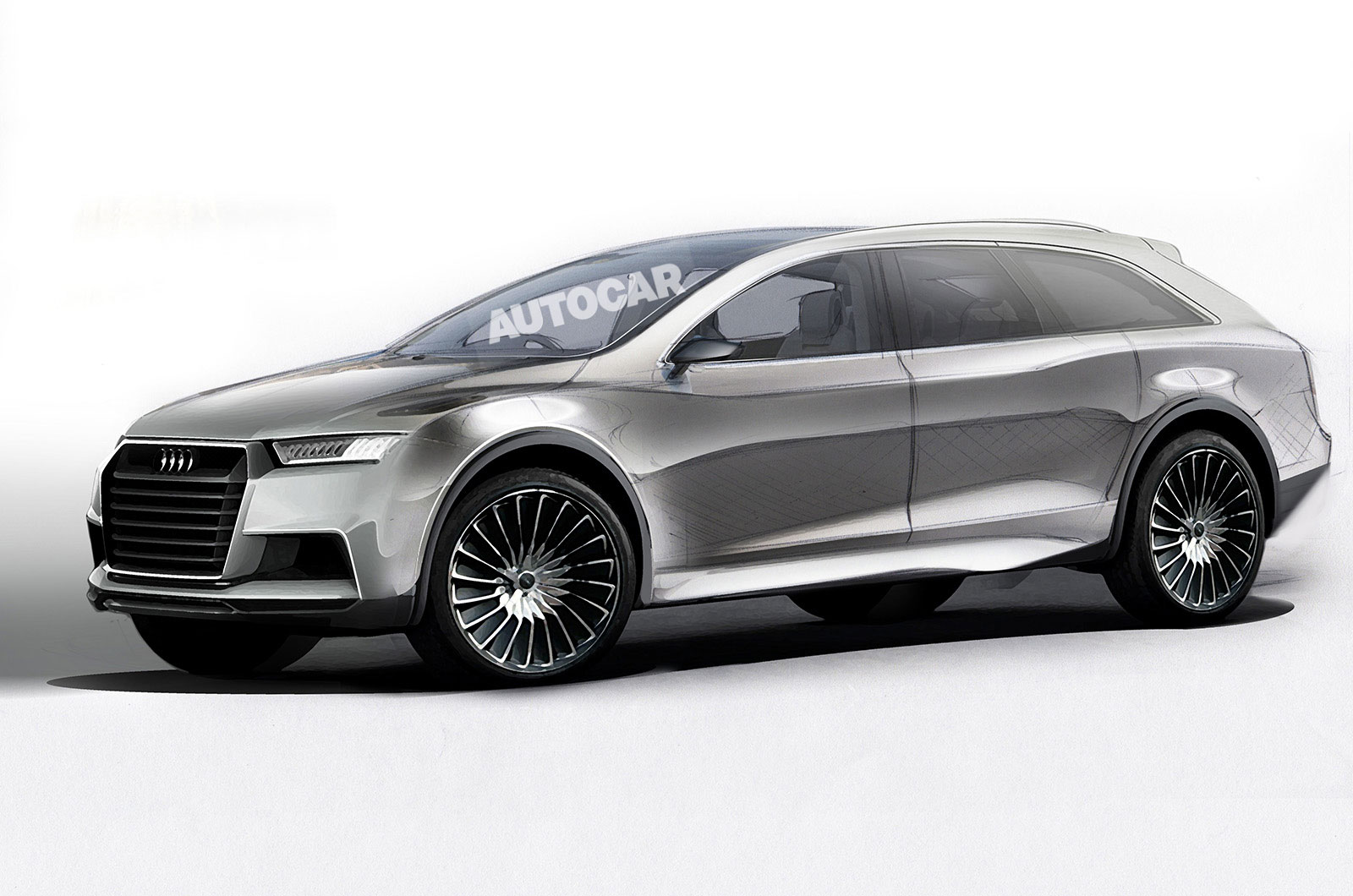 All Electric Audi Q8 Suv Confirmed To Rival Tesla Model X