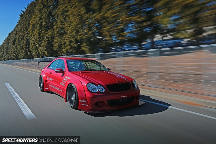 Mercedes-Benz CLK by Rocket Bunny Takes Extreme to a New Level