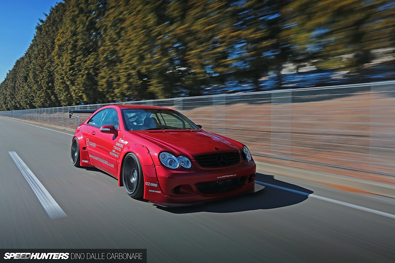 Mercedes Benz Clk By Rocket Bunny Takes Extreme To A New