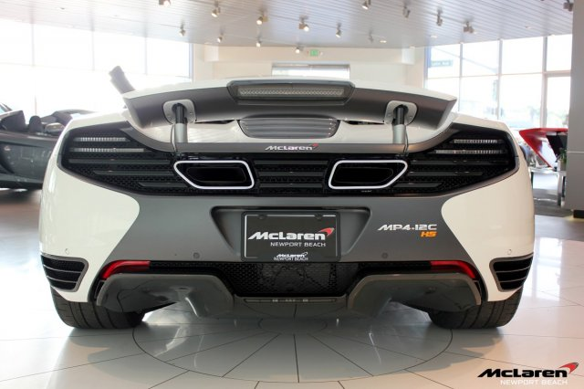 For Sale: 1 of 10 McLaren 12C High Sport Edition