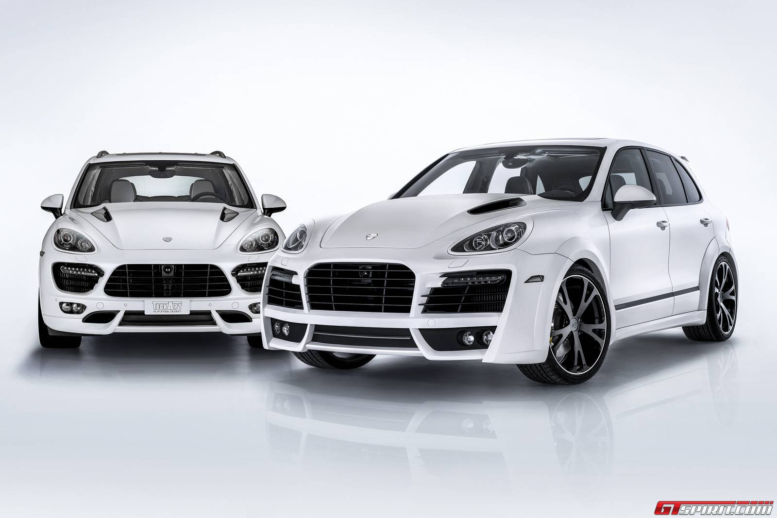 official porsche cayenne s diesel by techart gtspirit. Black Bedroom Furniture Sets. Home Design Ideas