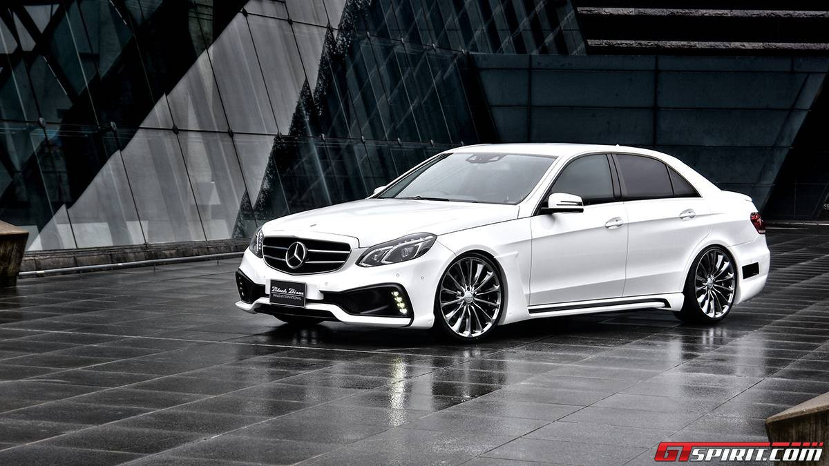 Official wald international mercedes benz e class black for 2014 e class mercedes benz