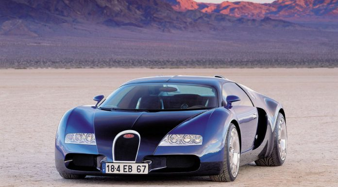 One-Off Bugatti Veyron EB 18.4 Concept Coming to Salon Rétromobile