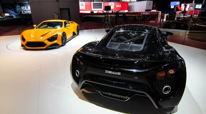 Zenvo ST1 at the Geneva Motor Show 2014