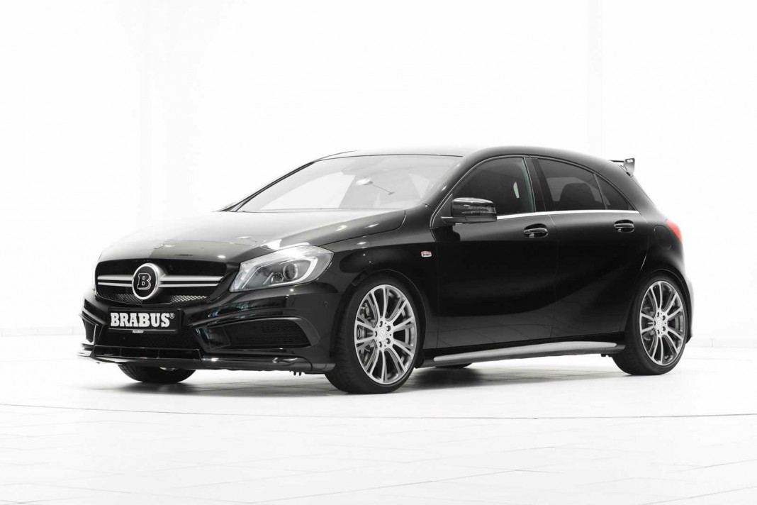 Official: Mercedes-Benz A 45 AMG by Brabus